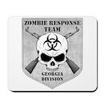 Zombie Response Team: Georgia Division Mousepad