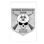 Zombie Response Team: Georgia Division Postcards (