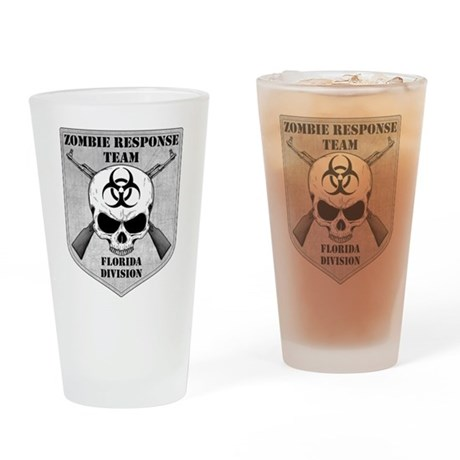 Zombie Response Team: Florida Division Drinking Gl