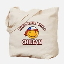Life's better with a Chilean Tote Bag
