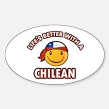 Life's better with a Chilean Decal