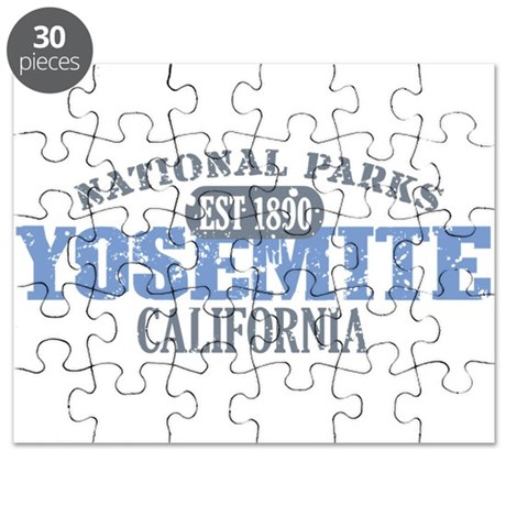 Yosemite National Park Califo Puzzle