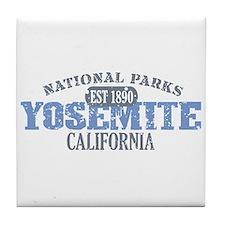 Yosemite National Park Califo Tile Coaster