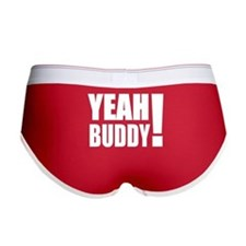 Yeah Buddy! (White) Women's Boy Brief