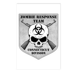 Zombie Response Team: Connecticut Division Postcar