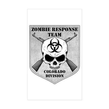 Zombie Response Team: Colorado Division Sticker (R