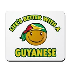 Life's better with a Guyanese Mousepad