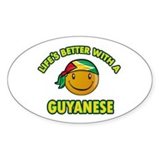 Life's better with a Guyanese Decal
