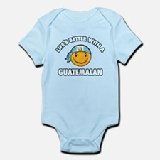 Life's better with a Guatemalan Infant Bodysuit