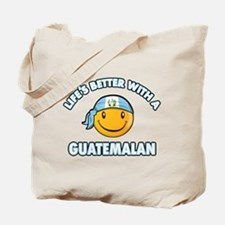 Life's better with a Guatemalan Tote Bag
