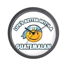 Life's better with a Guatemalan Wall Clock