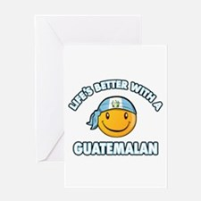 Life's better with a Guatemalan Greeting Card