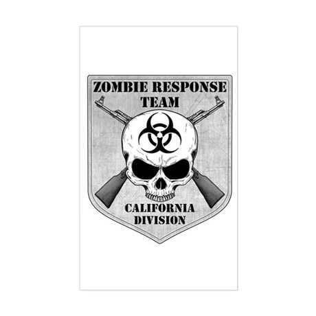Zombie Response Team: California Division Sticker
