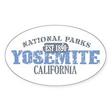 Yosemite National Park Califo Decal