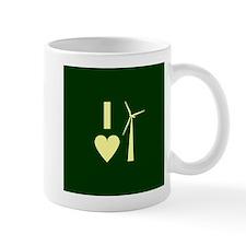 I Love Wind Energy Mug