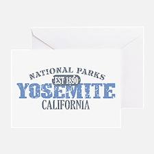 Yosemite National Park Califo Greeting Card
