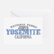 Yosemite National Park Califo Greeting Cards (Pk o