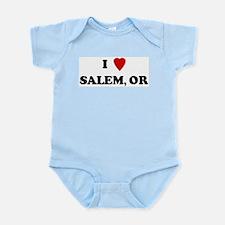 I Love Salem Infant Creeper