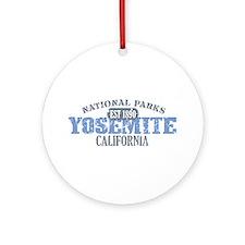 Yosemite National Park Califo Ornament (Round)