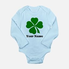 Personalized St Patrick's Day Long Sleeve Infant B