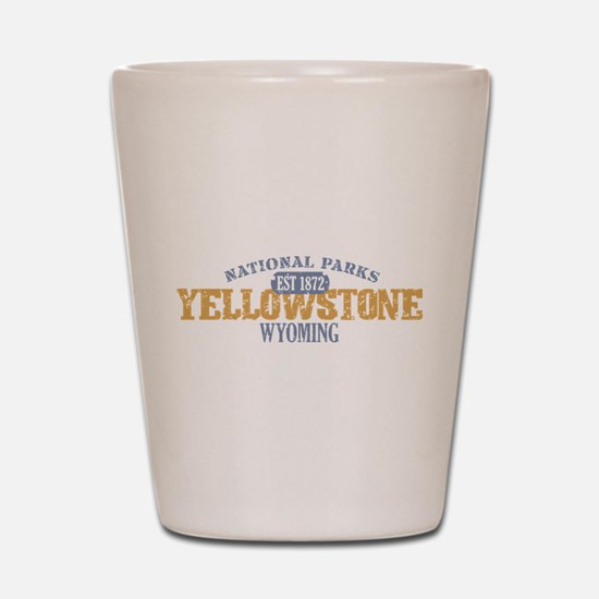 Yellowstone National Park WY Shot Glass