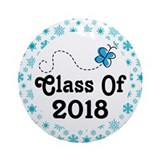 Class of 2018 Round Ornaments