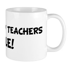 GEOGRAPHY TEACHERS Rule! Mug