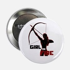 "Katniss Girl on Fire 2.25"" Button (10 pack)"