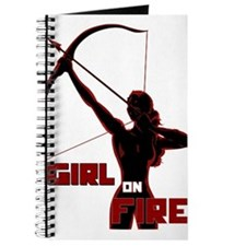 Katniss Girl on Fire Journal