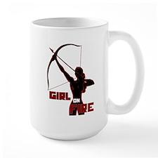 Katniss Girl on Fire Mug