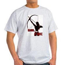 Katniss Girl on Fire T-Shirt