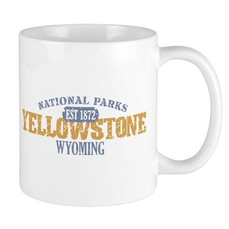 Yellowstone National Park WY Mug
