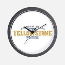 Yellowstone National Park WY Wall Clock