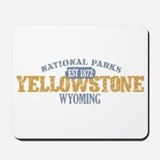 Yellowstone National Park WY Mousepad