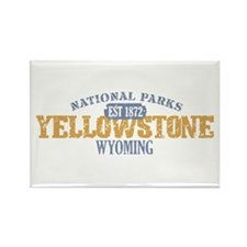Yellowstone National Park WY Rectangle Magnet (10