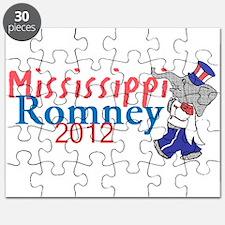 Romney MISSISSIPPI Puzzle
