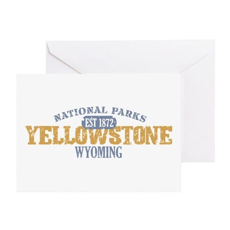 Yellowstone National Park WY Greeting Card