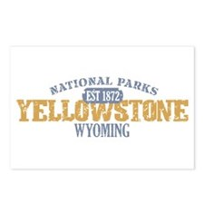 Yellowstone National Park WY Postcards (Package of