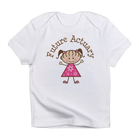 Future Actuary Girl Infant T-Shirt