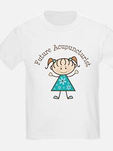 Future Acupuncturist Girl T-Shirt