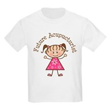 Future Acupuncturist Girl T-Shirt