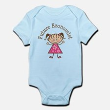 Future Economist Girl Infant Bodysuit