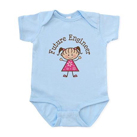 Future Engineer Girl Infant Bodysuit