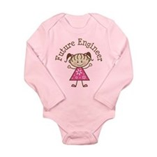 Future Engineer Girl Onesie Romper Suit