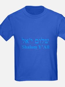 Shalom Y'All English Hebrew T