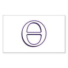 Theta Symbol Decal