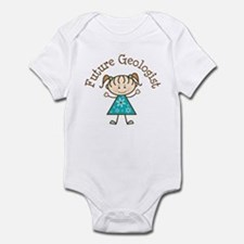 Future Geologist Girl Infant Bodysuit