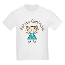Future Geologist Girl T-Shirt