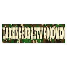 Few Good Men Bumper Bumper Sticker