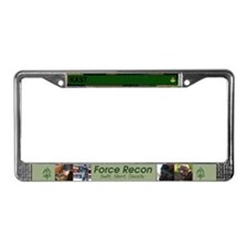 Funny Force recon License Plate Frame